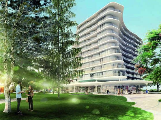 ARIA's proposed residential and retail development for Mooloolaba Esplanade includes $8.5 million of public plaza, parkland and beach access.