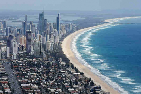 GOLD COAST, AUSTRALIA - OCTOBER 22: Aerial view of Surfers Paradise on October 22, 2014 on the Gold Coast, Australia. (Photo : (Photo by Chris Hyde/Getty Images)