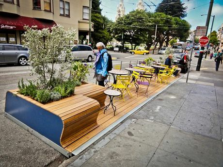 Nambour's 'parklets' have already begun to freshen up the CBD.
