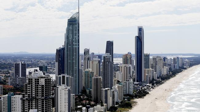 Gold Coast property is in hot demand, along with that of Brisbane.