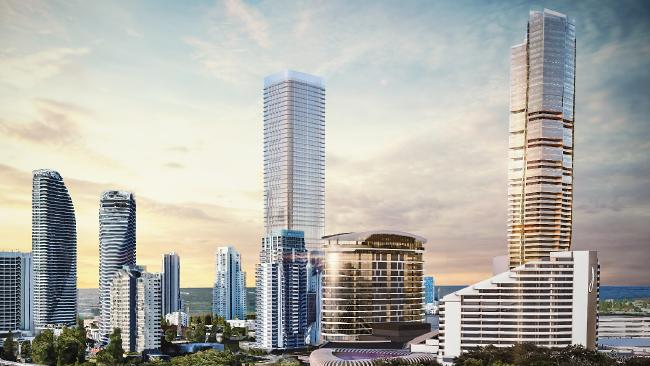 Jupiters' owners announce 200m high, 700 room tower for Gold Coast casino and resort
