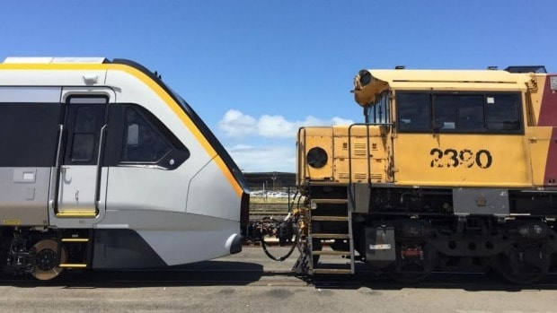 'They're here': Qld's Rail $4 billion sleek fleet arrives in Brisbane