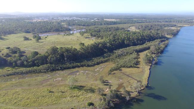 MORE than 700 homes will be built in Coomera after developer Stockland bought a riverfront holding for $40 million. The 116ha parcel, known as Waterway Downs, fronts the Coomera River and includes the Coomera River's 10.1ha Foxwell Island and 8.1ha Thomson Island, located within Hope Island. The listed developer has been granted approval for the construction of up to 747 residential dwellings, including detached homes and townhomes, on the site.