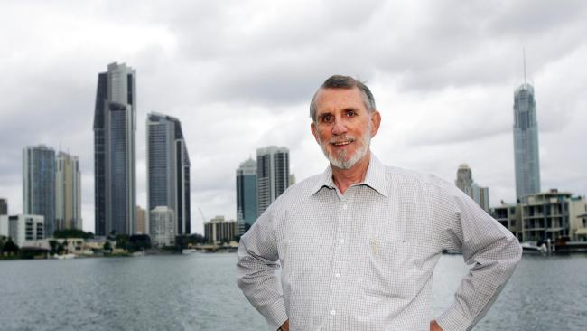 A prominent Gold Coast businessman has called for light rail extensions to stop