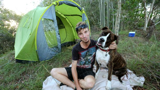 Gold Coaster living in a tent because of city's rental crisis