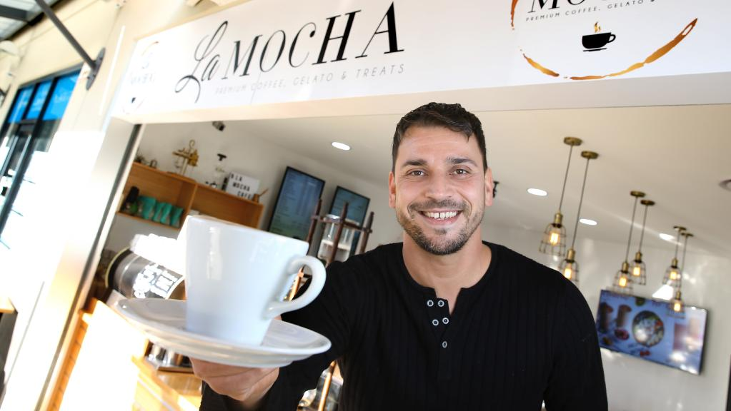 Erkan Senyucel started up La Mocha in December.