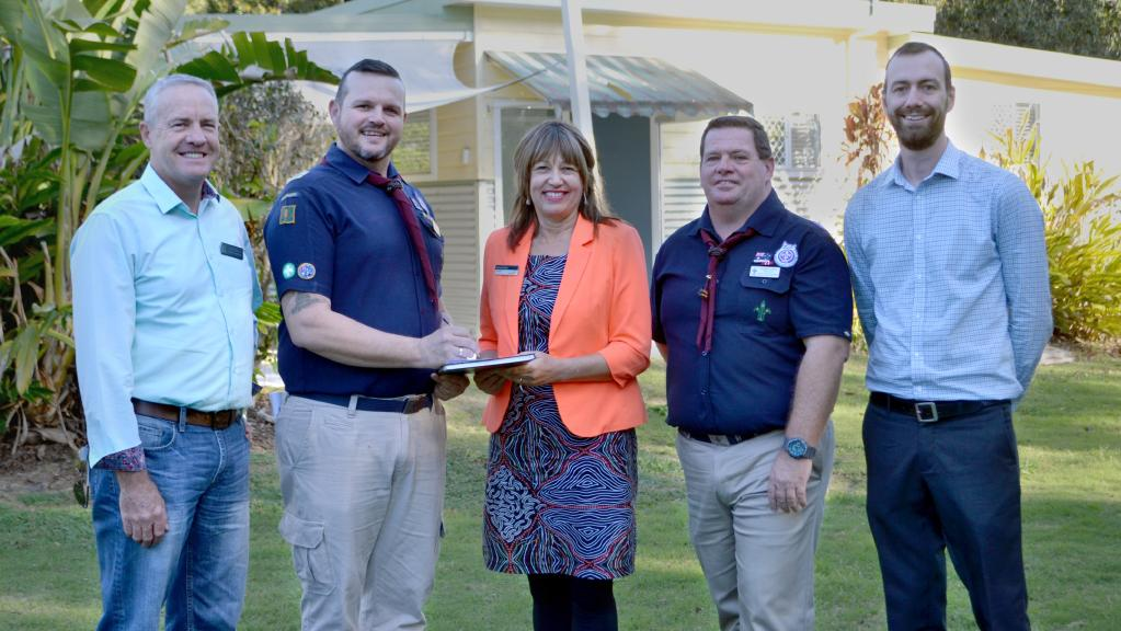 Kallangur scouts get a permanent base a little closer to home morton investor caboolture - The scouts tiny house ...