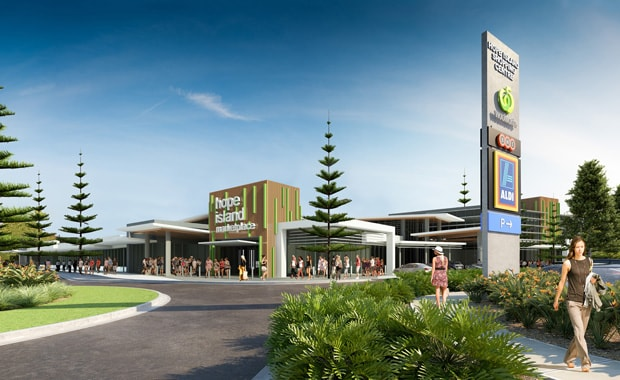 Construction Under Way On New Hope Island Shopping Centre