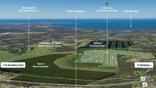 Decision on horizon for key marina section of huge North Harbour development at Burpengary