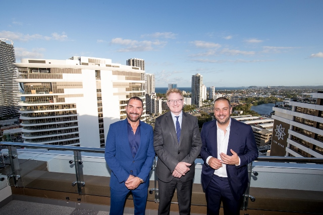 Gold Coast is getting a massive new rooftop restaurant and bar in time for the Commonwealth Games