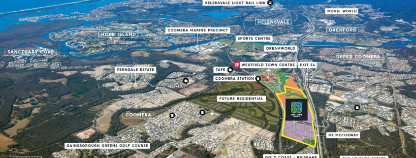 The Link Coomera – our Newest Business Park (Bringing jobs to the Gold Coast)