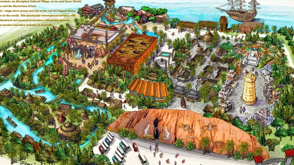 Gold Coast Theme Park Gets Green Light from Beijing