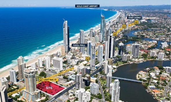 Real Estate Gold: Surfers Paradise Block Hits the Market
