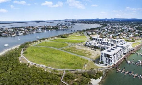 Land for sale at new Gold Coast beachfront estate