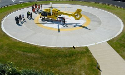Life-saving helipad opens at Ipswich Hospital