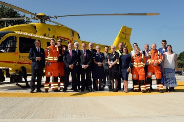 Life-saving helipad opens at Ipswich Hospital1