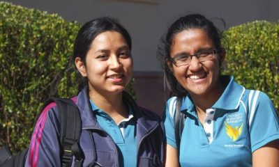 USQ international students Samikshya Paudel and Nisha Thapa moved to Australia from Nepal to study nursing at the Ipswich campus. They are among a growing group of young people flocking to the city, new data shows.