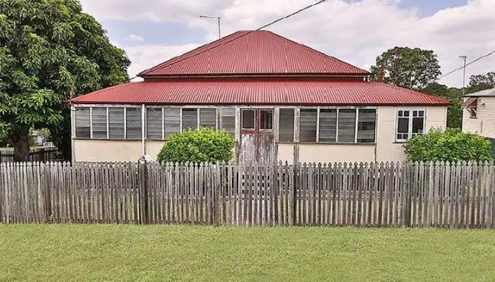 First home buyers could pick up this renovator on a quarter acre block at 36 Moffatt St Ipswich
