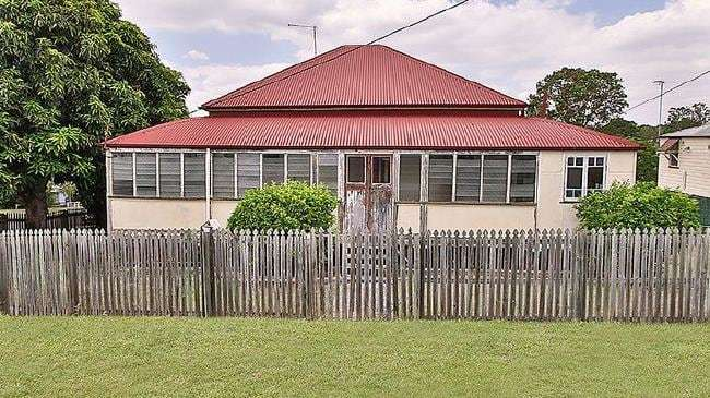 First home buyers could pick up this renovator on a quarter acre block at 36 Moffatt St, Ipswich