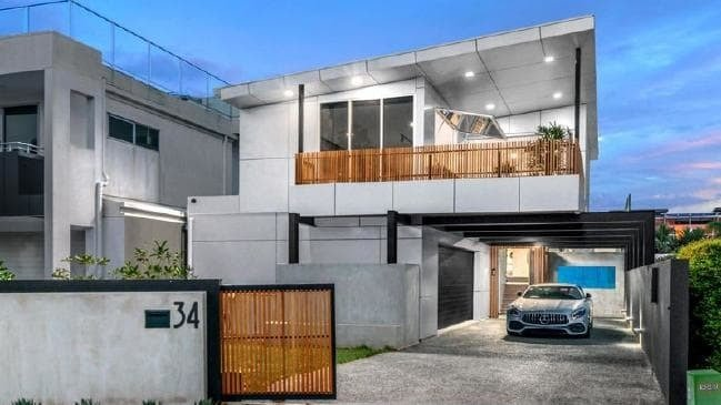This ultra modern_ riverside home at 34 Addison Ave_ Bulimba