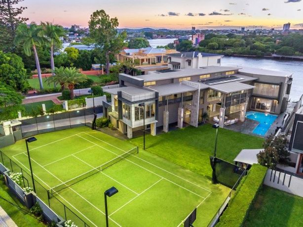 Brisbane's most expensive homes & top properties