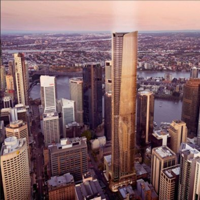 Brisbane's tallest tower heralds a coming of age the river city
