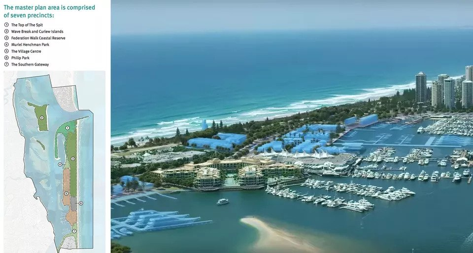 First Look 140 Hectares Transformed Gold Coast 'Ocean Park' Plan