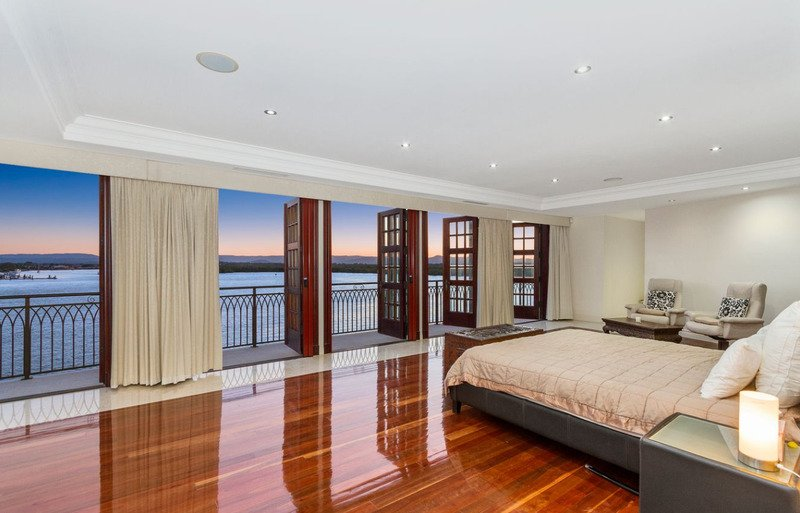 Luxury Gold Coast castle on the market