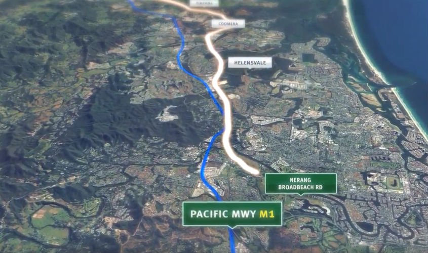 Watch Route of Gold Coast's new 'M2' motorway revealed [video]