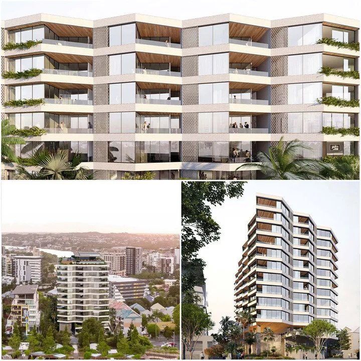 Aria Lodges Plans for Kangaroo Point Tower 1