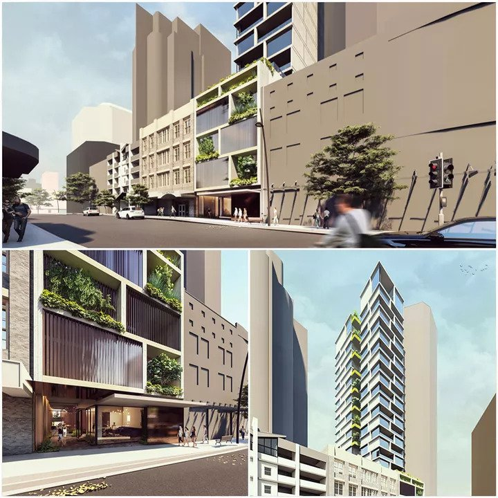 Plans Lodged for Ann Street Apartment Tower 1