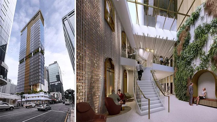 Brisbane's Narrowest Commercial Tower Approved 1