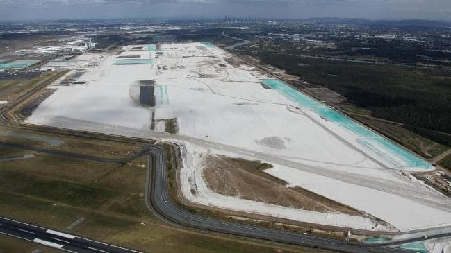 Brisbane Airport's new runway months away from being finished 3