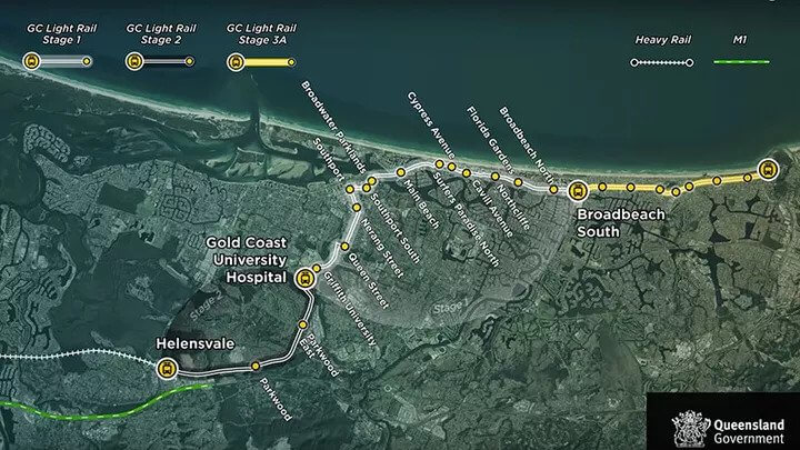 Government Commits $351m to Gold Coast Light Rail 2