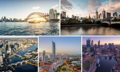 High-end property prices are booming in these five Aussie cities.