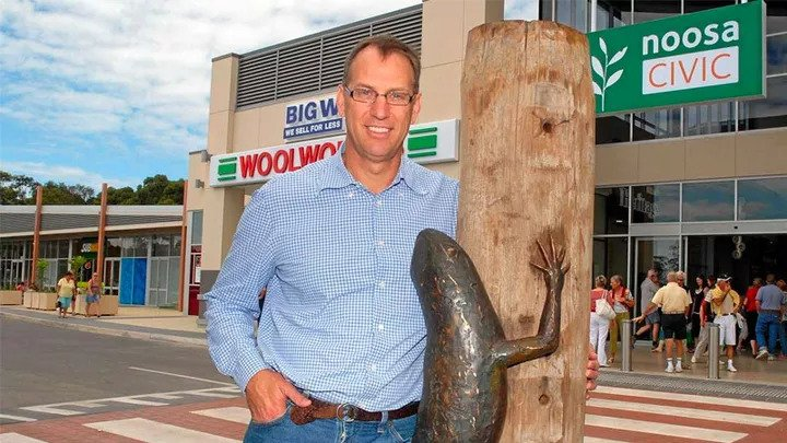 Olympian Makes Waves Buying Back Noosa Shopping Centre 1