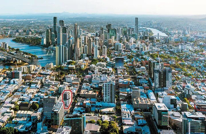 Investec Lists Fortitude Valley Office Tower