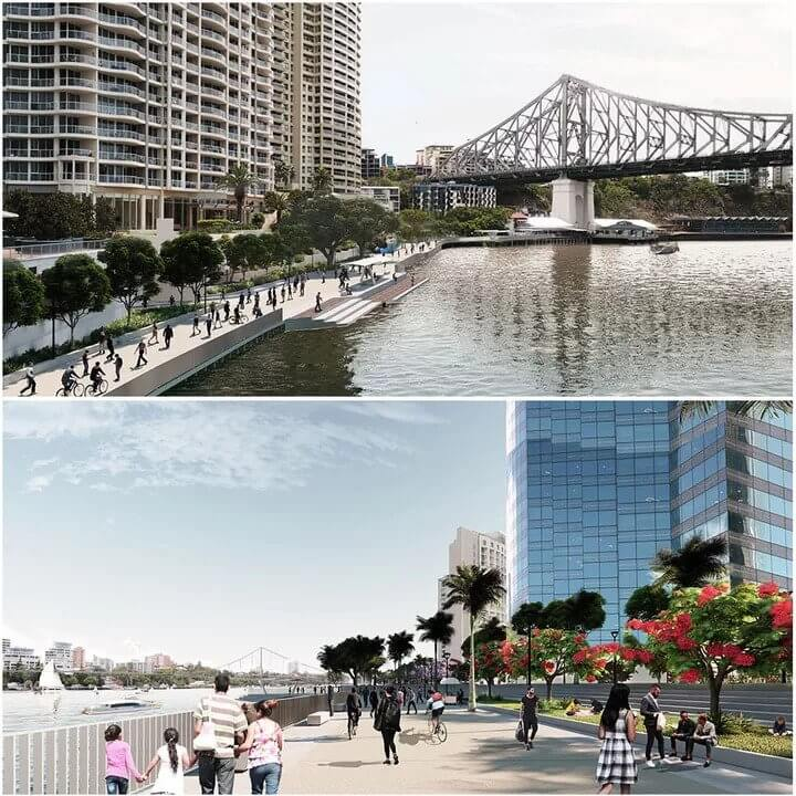Brisbane Plans CBD Riverfront Renewal 1