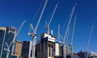 Cranes Popping Up Across The Country as Construction Picks Up