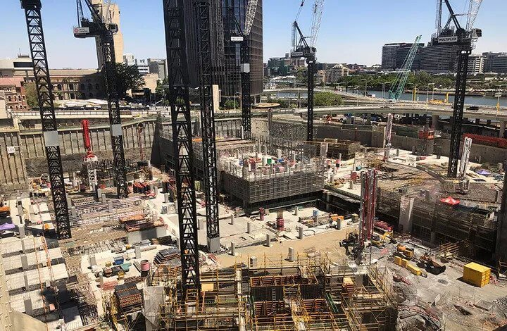 Brisbane's $3.6bn Queen's Wharf Construction Update (1)