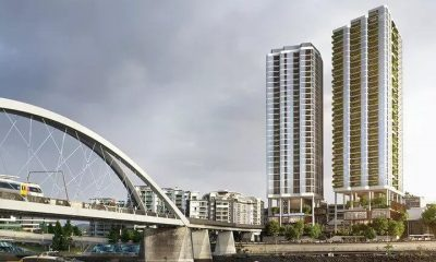 Plans Lodged for $200m Twin Tower Brisbane Apartments (1)