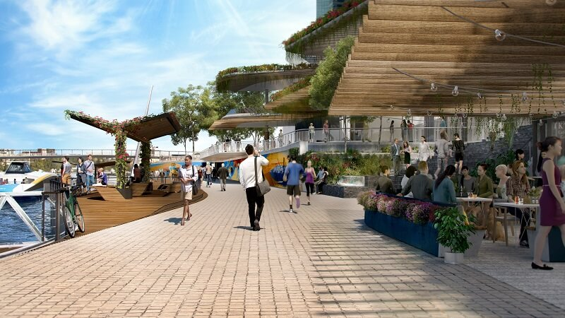 Dexus secures $2.1 billion redevelopment of Brisbane's Eagle Street pier (3)