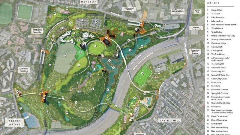 Lord mayor releases Victoria Park draft masterplan without cost figures (2)