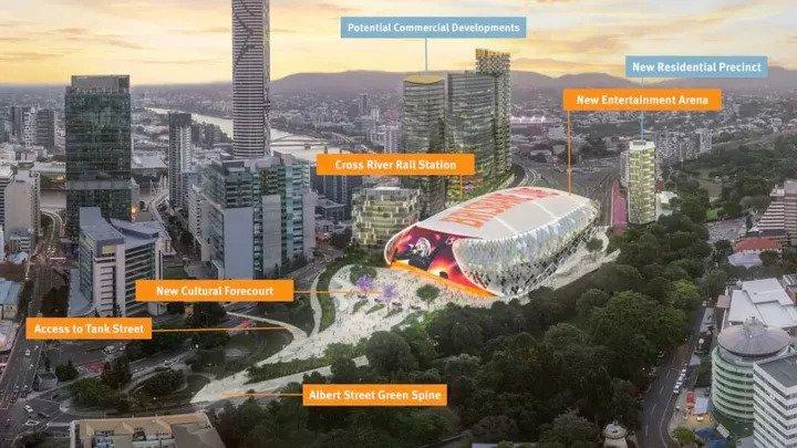 Brisbane's Largest Demolition Commences (2)