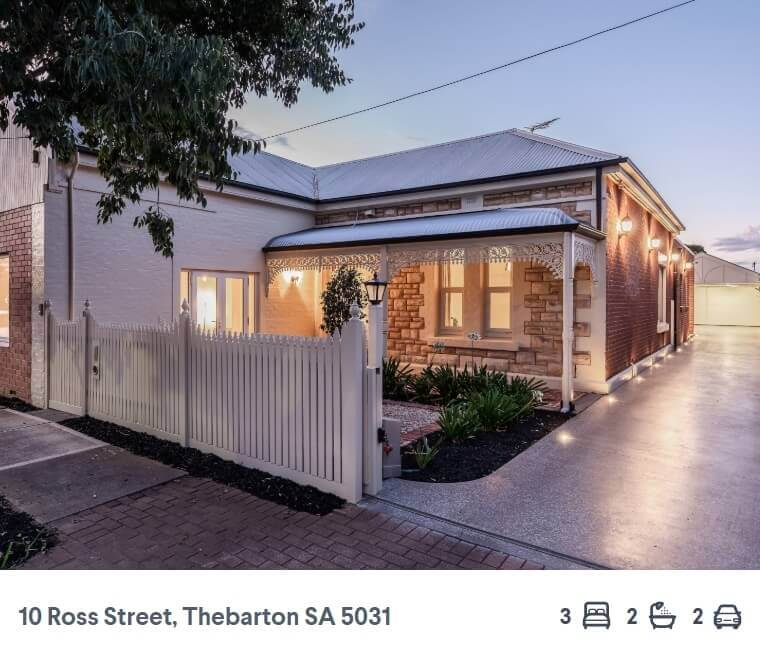 How much house the median auction price gets you across Australia's capital cities (1)