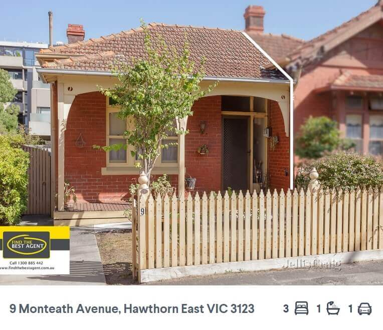 How much house the median auction price gets you across Australia's capital cities (8)