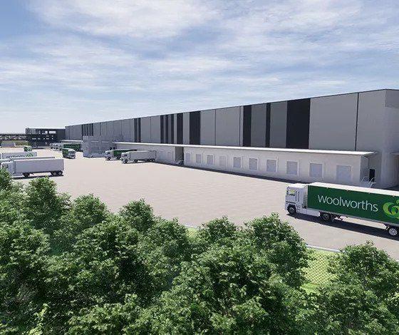 Woolworths Plans $184m Distribution Centre in Brisbane