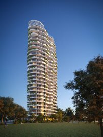 New 25-storey apartment complex lodged for historic riverside Newstead (3)