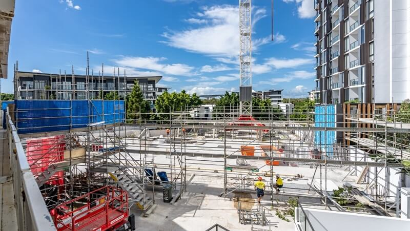 Frasers Property Construction of Riverlight North at Hamilton Reach forges ahead