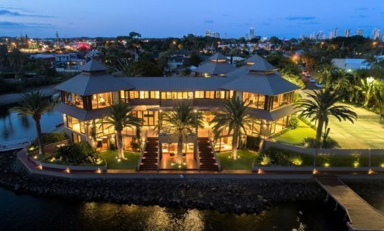 Gold Coast mega-mansion with private beach sells for $11.75 million